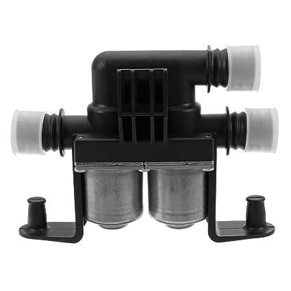 YONGYAO Coches Calentador Válvula Solenoide Válvula De Control De Válvula De Agua De Enfriamiento para BMW