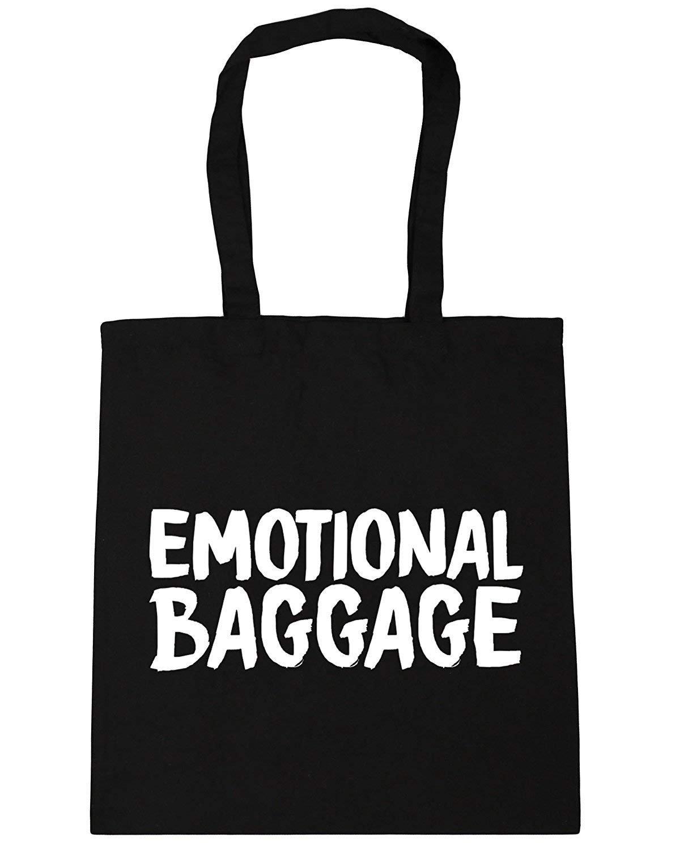 irmapetty Emotional Baggage Toteショッピングジムビーチバッグ B07CB144MG