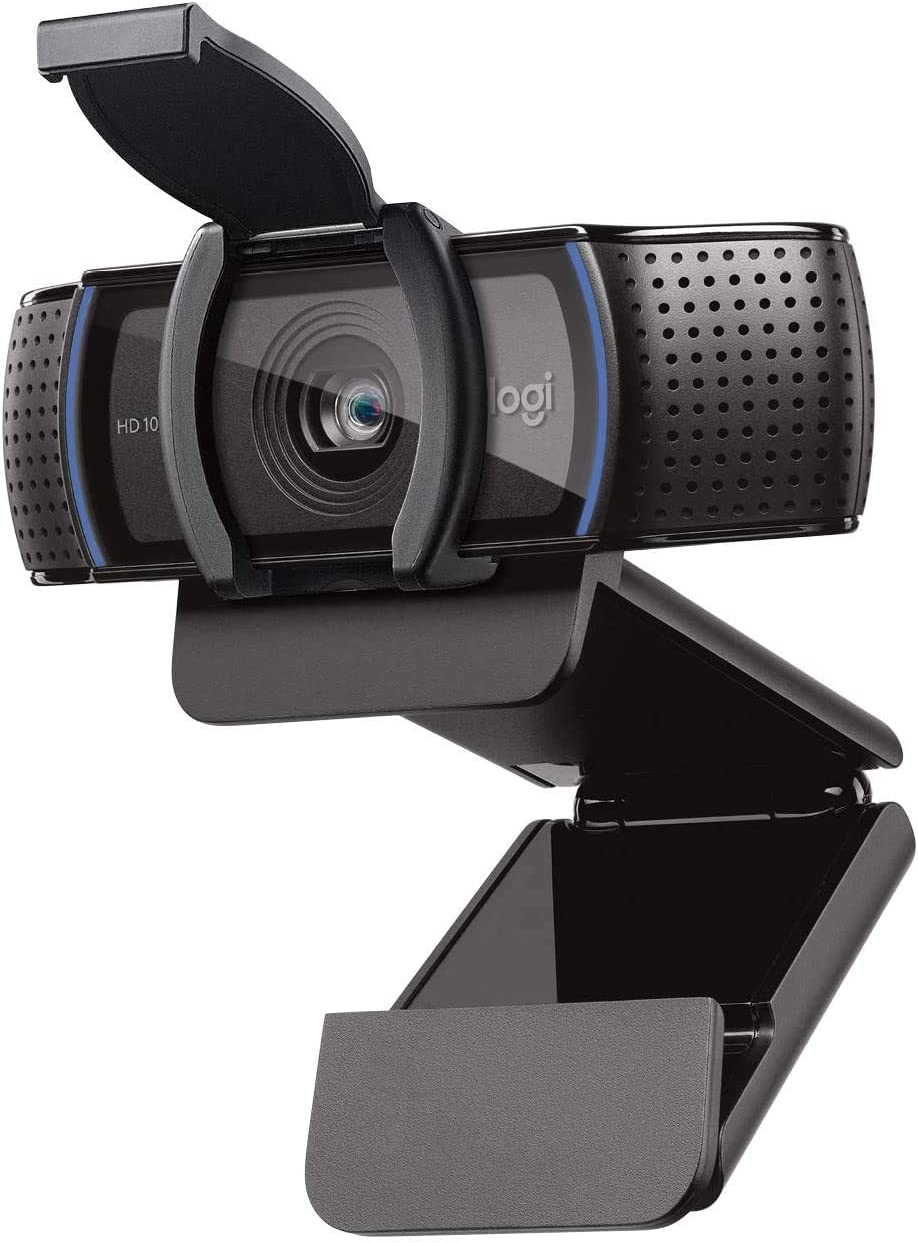 Computer HD Pro Webcam C920S with Privacy Shutter - 1080p Streaming Widescreen Video Camera - Built in Microphone for Recording for Computer Desktop and Laptop Cam