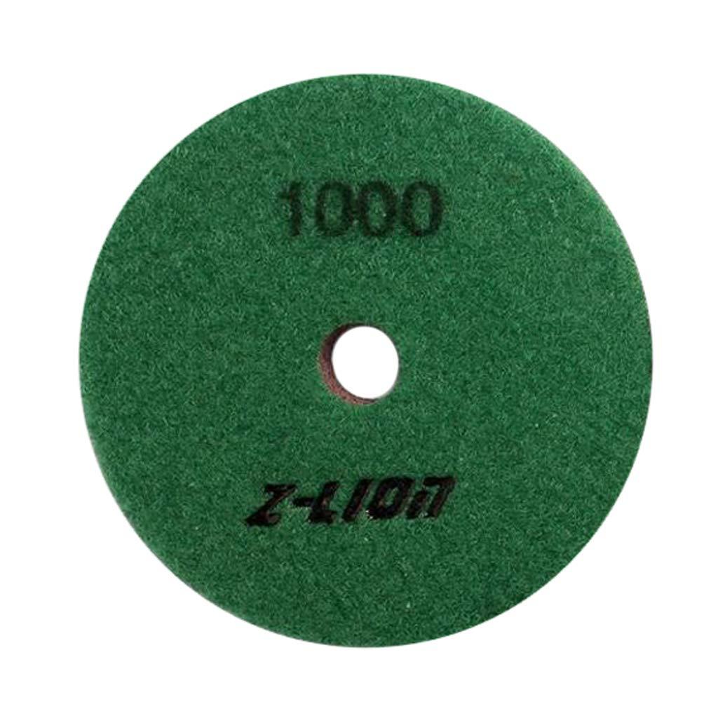 1000 FLAMEER Ensemble De Tampons de Polissage Mouill/é Disque Abrasif Diamant/é