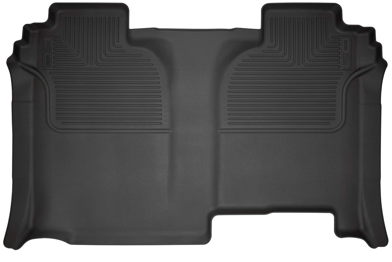 Husky Liners 13211 Black Front Seat Floor Liners Fits 2019 Silverado//Sierra 1500 Crew Cab