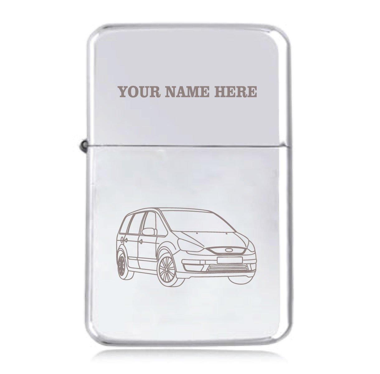Ford Galaxy (nuevo diseño) - personalizado Star resistente al viento encendedor de gasolina: Amazon.es: Hogar