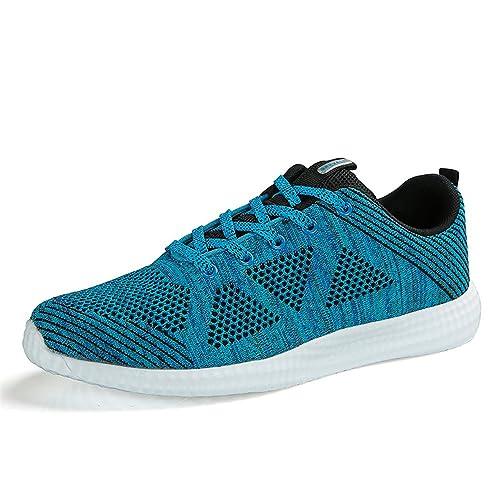 Hombre Mujer Gimnasio para Zapatillas de Zapatos Running de Zapatos Correr Deportes: Amazon.es: Zapatos y complementos
