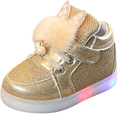 EISHOW Cute Baby LED Shoes Toddler Boys