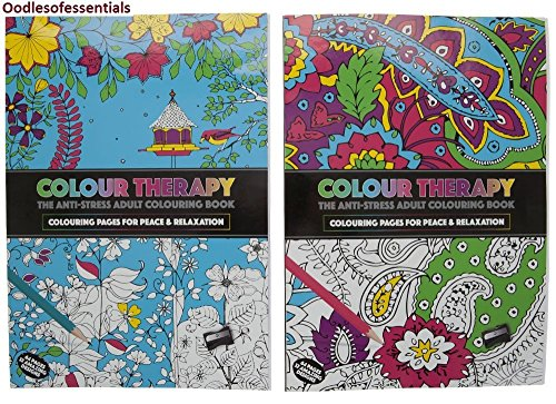PMS 2AST 64PG A4 SIZE COL THERAPY COLOURING BOOK 36CDU
