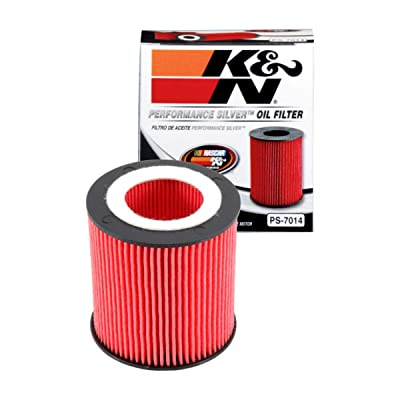 K&N Premium Oil Filter: Designed to Protect your Engine: Fits Select BMW Vehicle Models (See Product Description for Full List of Compatible Vehicles), PS-7014: Automotive