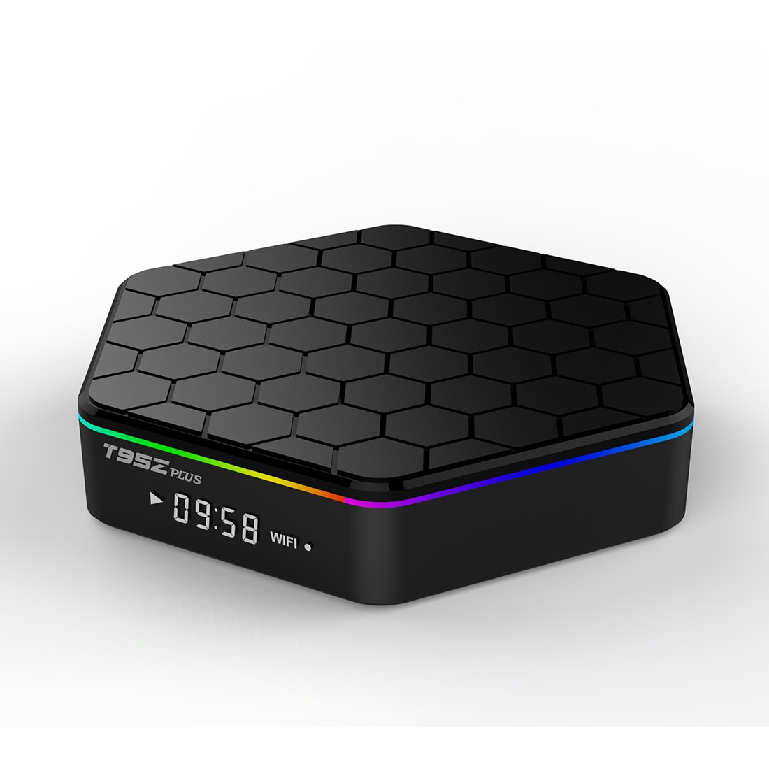 SeekEdge 2018 High Configuration Android TV Box with 64Bit Amlogic S912 8-core CPU 2GB Ram+16GB Rom EMMC and Supporting 4K (60Hz) Full HD/H.265/2.4G+5G Dual-Band WiFi/1000M lan