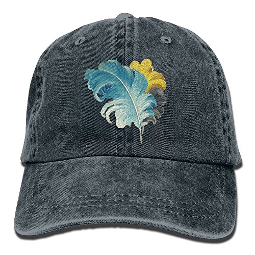 Safan532 Unisex Beautiful Feather Lover Summer Fashion Cotton Baseball Cap Adjustable Trucker Hats For Outdoor - Baby Stores Geelong