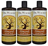 Dr. Woods Pure Almond Liquid Castile Soap with Organic Shea Butter, 32 Ounce (Pack of 3) For Sale
