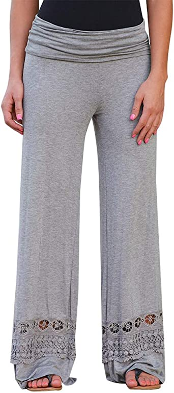 pantalon femme jambe large