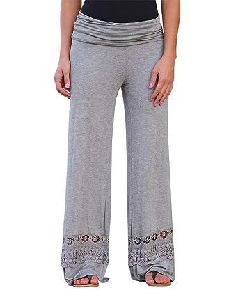Minetom Vêtements Femme Pantalon Décontracté,Covermason Femmes d été Harem  Pantalons Occasionnels Pantalon Jambe c063f1a42c9c