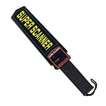 Arichtop Handheld Metal Detector Professional Sensitivity Super Scanner Tool Metal Finder Security Checking Detector: Amazon.com: Industrial & Scientific