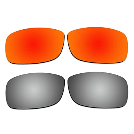 968845a47b 2 Pair COODY Replacement Polarized Lenses for Ray-Ban RB4075 61mm Sunglasses  Pack P3