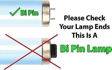 Brilliance Active Bronzer F71 100W-120W 7.0 Bi-pin Tanning Lamp 6