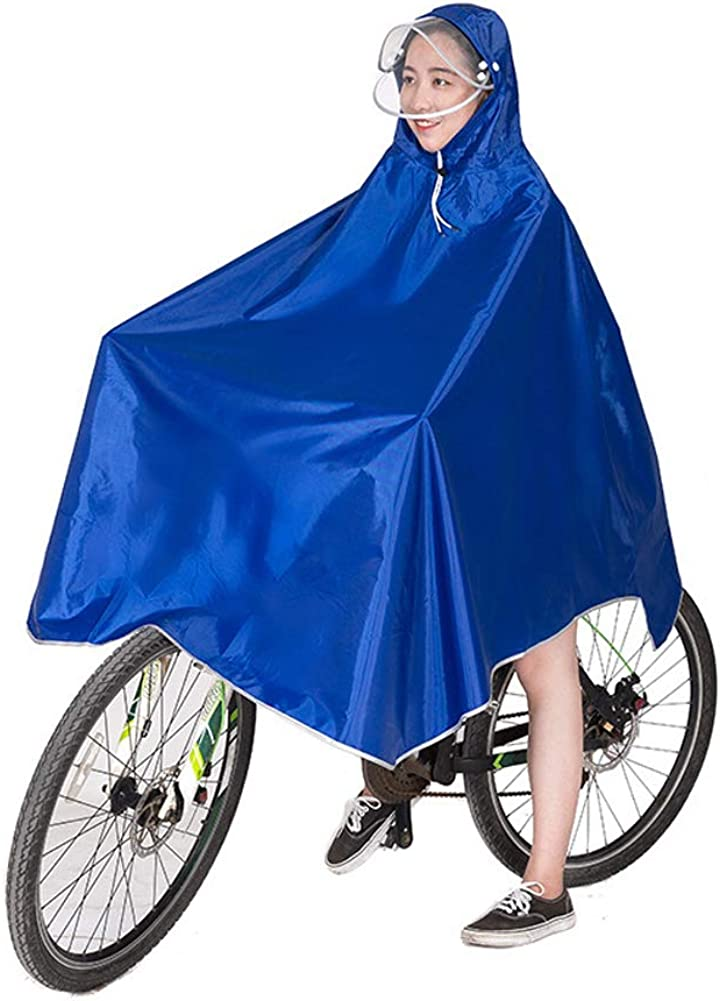 Angler usw. Reiter Regenponcho,Eva wasserdichte Regenmantel,Fahrrad Regenjacke,Poncho Camping Regencape regenkleidung f/ür Herrn/&Damen Wanderer Reise Gr/ün Rad-Regenponcho