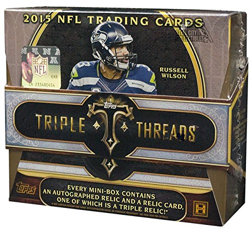 2015-topps-triple-threads-football-hobby-box