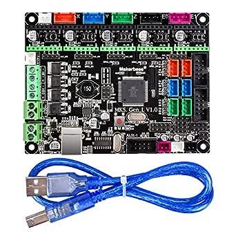 BIQU - Placa de impresora 3D MKS Gen L V1.0 controlador integrado ...