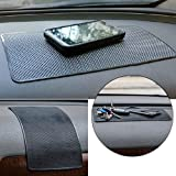 27x15cm Car Dashboard Magic Anti Slip Mat Non-slip Pad for Key Coin Cell Phone Sunglasses