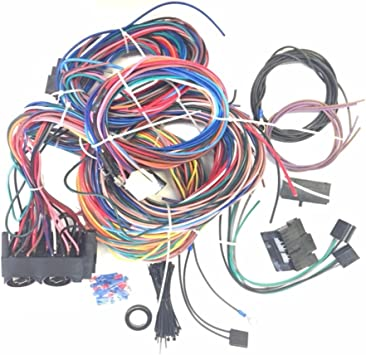 Ford EZ Wiring 21 Circuit Color Wiring Harness Kit Chevy Hotrods. Mopar
