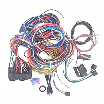 amazon com new 12 circuit ez wiring harness fits for chevy mopar Eg Wiring Harness