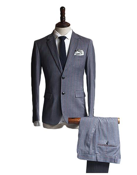 Líder de la belleza de hombre de traje chaqueta y pantalones ...