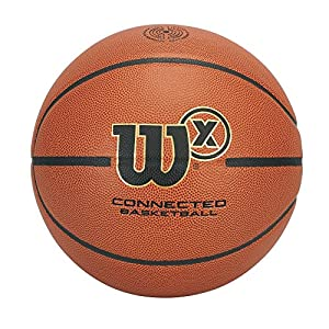 Wilson WTB0300ID X Connected Smart Basketball with Sensor That Tracks Shots
