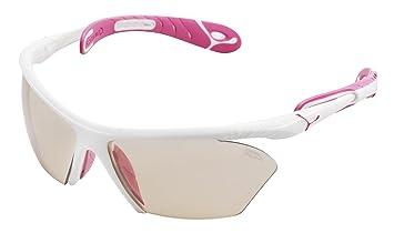 Cébé Cougar - Gafas de sol para mujer, color blanco y rosa ...