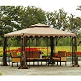 Cheap Sunjoy Replacement Canopy Set for 10x12ft L-GZ043PST-3 Gazebo