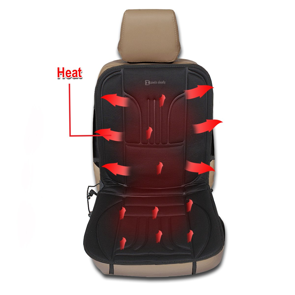 Use Seat Heater At Home With Car Adapter