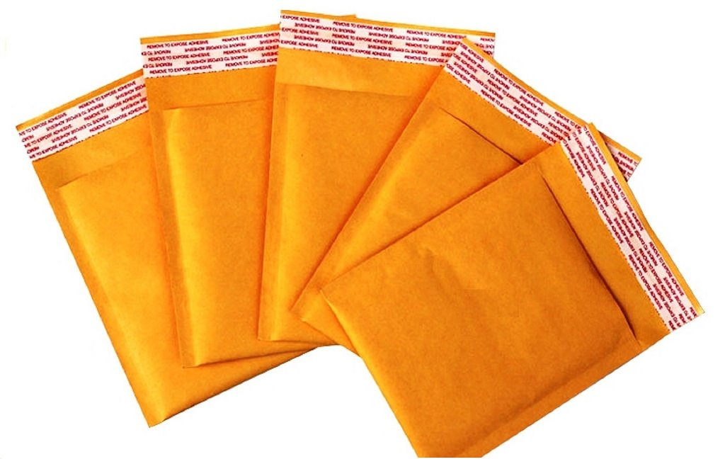 25 Gold Brown Bubble Padded Mailers Envelopes Bags Cheap D A JL JF 220mm x 320mm A Range