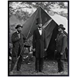 President Abraham Abe Lincoln Vintage Civil War Photo - American Patriotic Wall Art Home Decor, Living Room, Office Picture -