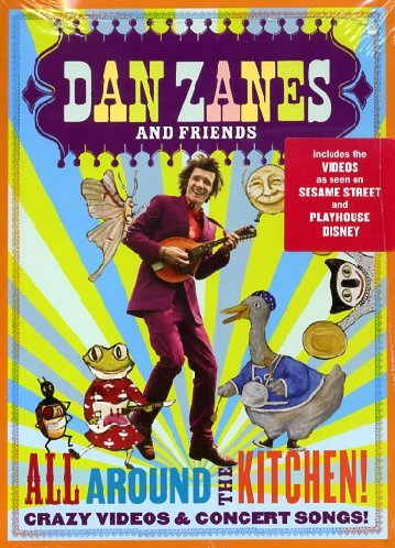 DVD : Dan Zanes - All Around The Kitchen!: Crazy Videos And Concert Songs! (DVD)
