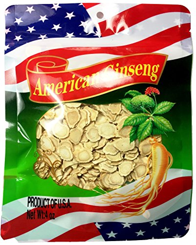 888Warehouse - (4 OZ) Premium American Ginseng Hand Selected Grade (Root Thin Slices)