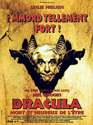 Dracula Dead and Loving It Poster Movie French 11 x 17 Inches - 28cm x 44cm Leslie Nielsen Mel Brooks Peter MacNicol Lysette Anthony Amy Yasbeck Steven Weber Harvey - Nielsen Leslie Dead