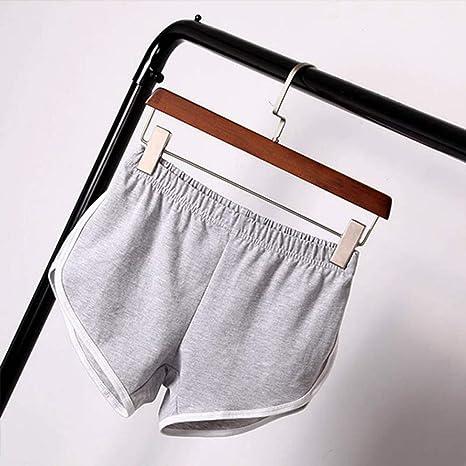 DKXLW Pantalones Cortos De Mujer,Gris Carretera Verano Shorts ...