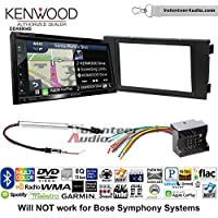 Volunteer Audio Kenwood Excelon DNX694S Double Din Radio Install Kit with GPS Navigation System Android Auto Apple CarPlay Fits 1999-2006 Audi A6