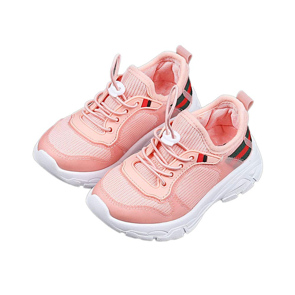 Walktrendy Girls Cloth Lace Sneakers in