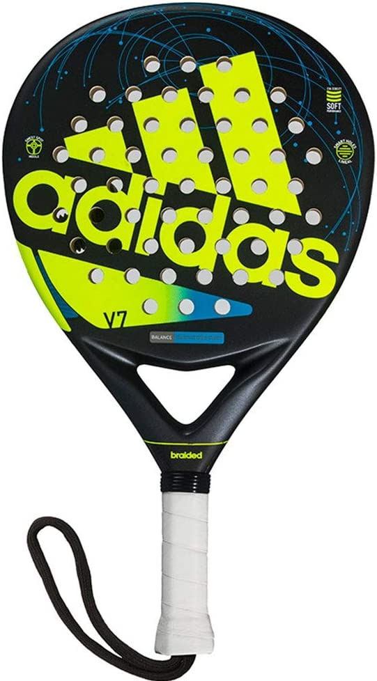 All for Padel Adidas V7 Pala de pádel, Adultos Unisex, Lime, Talla ...