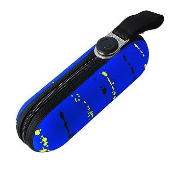 Knirps X1 Mini Funda Pantalla paraguas Paint Stripes Neon Blue: Amazon.es: Equipaje
