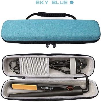 ghd Max Styler KT-Case - Estuche para alisar el pelo (cerámica), color azul: Amazon.es: Salud y cuidado personal