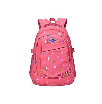 21341315b83ee Smnyi Kinder Schulrucksack Wasserdicht Mädchen Backpack Groß Outdoor  Rucksack Kawaii Schule Schulranzen Leicht Printing Schultasche