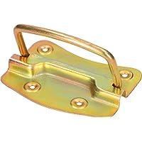 KOTARBAU® Kistgreep 110 x 80 mm geel zilver zwart klapgreep draaggreep inlaatkist handvat meubelgreep boksgreep greep…