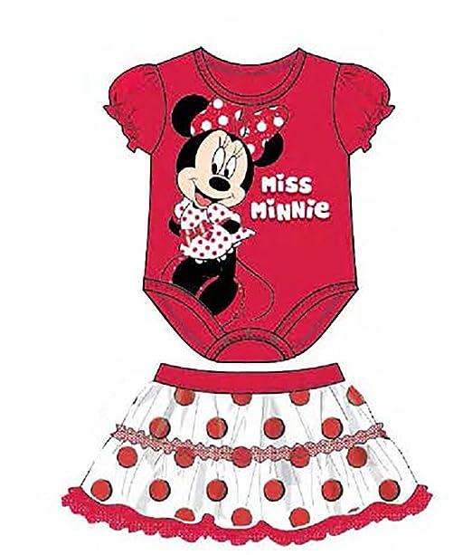 Disney Minnie Mouse Creeper/gasa lunares falda: Amazon.es: Ropa y ...