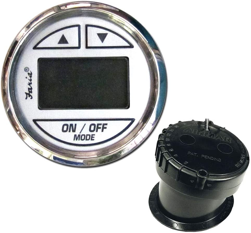 Faria Ches Ss Wht S In-hull Tran -Depth Sounder Transducer