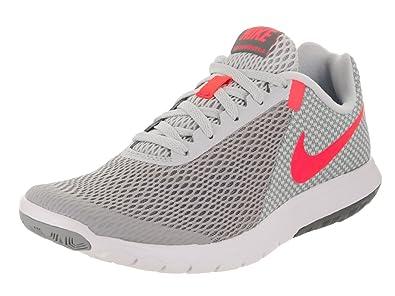 Nike Flex Experience Rn Ponche 6 Wolf Gris  Ponche Rn Caliente  Pure Platinum Mujer 8b7e18