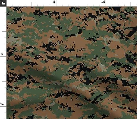 39a974ffb549a Woodland Fabric - Marine Marpat Digital Woodland Camo by ricraynor - Woodland  Fabric with Spoonflower -