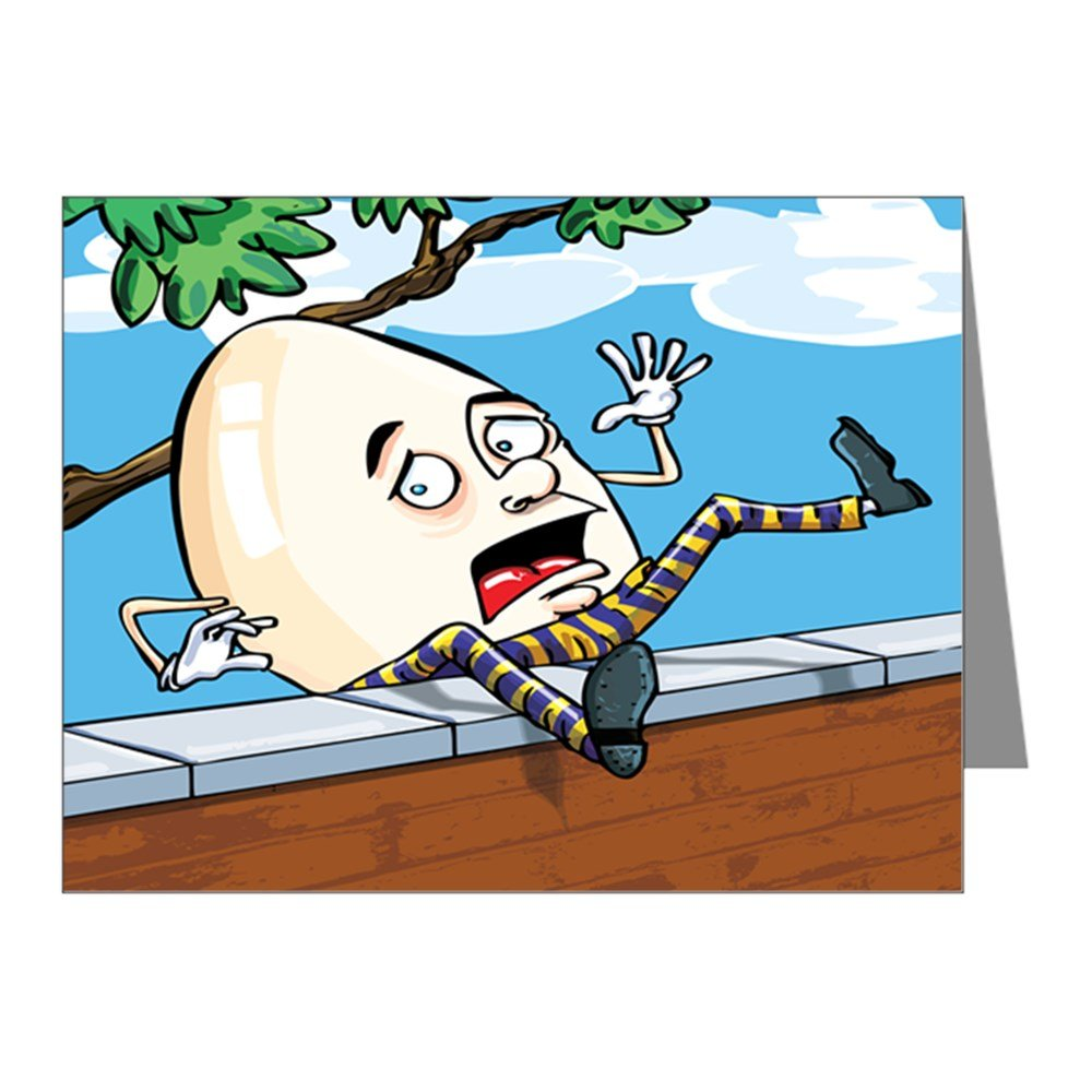 Note Cards (20 Pack) Humpty Dumpty Sat On Wall