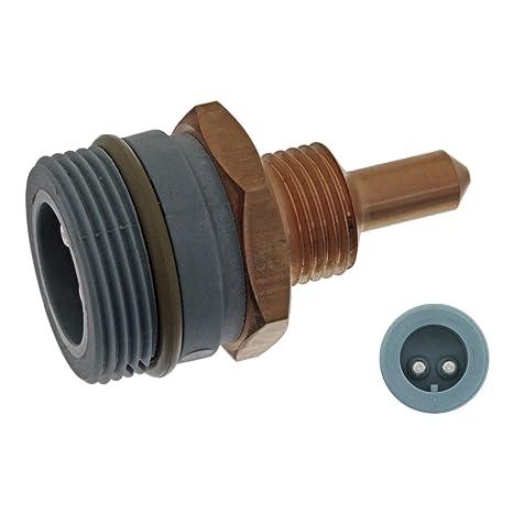 Aussengewinde M16 x 1,5 febi bilstein 44861 K/ühlmitteltemperatursensor 1 St/ück Anschlusszahl 2