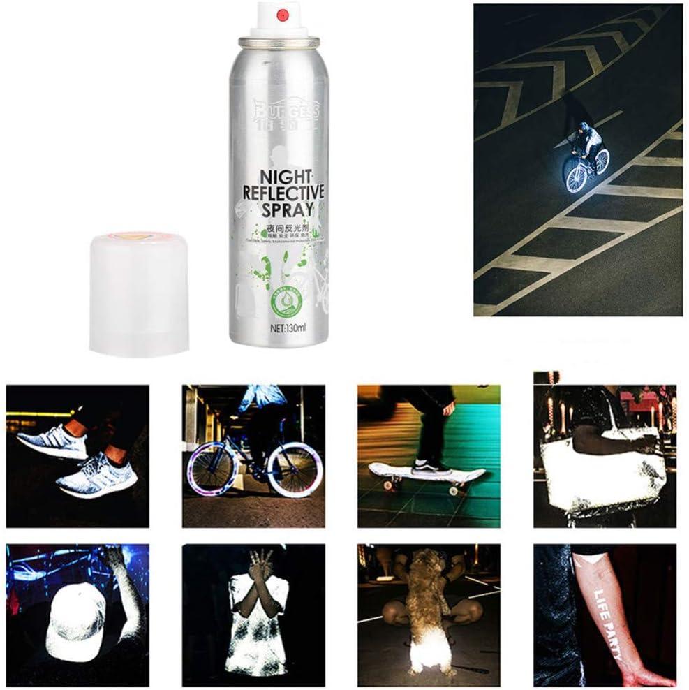 QHJ - Spray Reflectante para Bicicleta de Noche: Amazon.es: Hogar