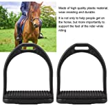HEEPDD Safety Stirrups for Saddle,1 Pair Black